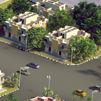 aerial view visualisation in chennai