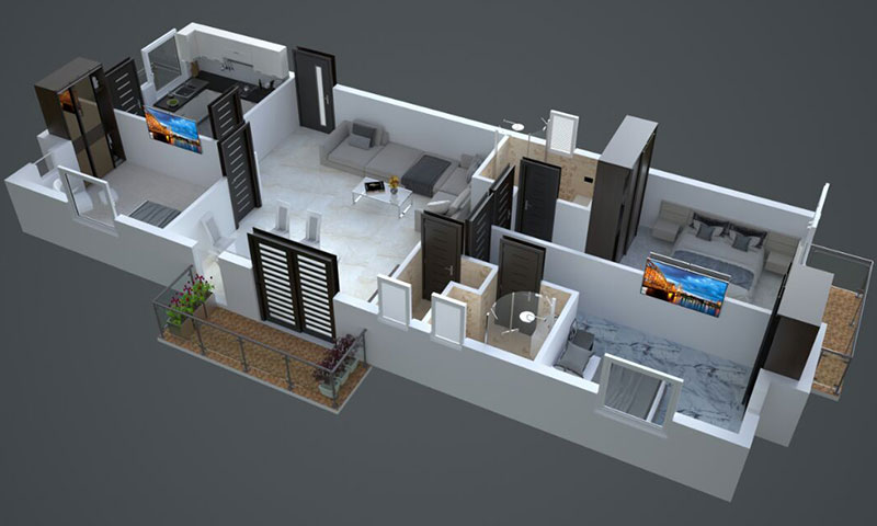 Axonometric view training chennai