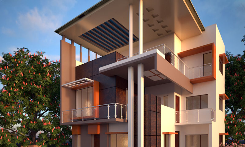 exterior view training chennai