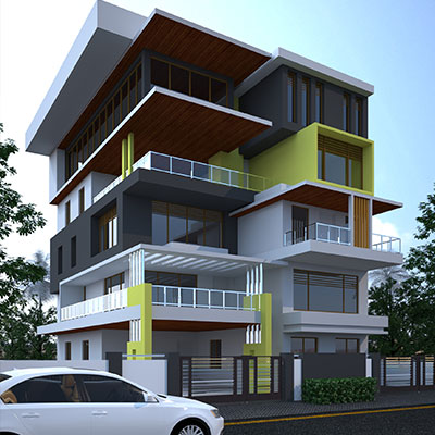 CADfx - Best exterior design in chennai